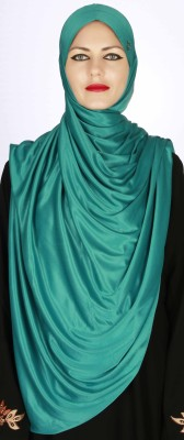 Islamic Attire Solid Silk Women's Scarf