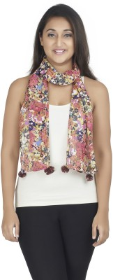 Get Wrapped Printed Chiffon Women's Scarf