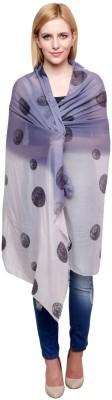 Chiktones Polka Print Polyester Women,s Stole