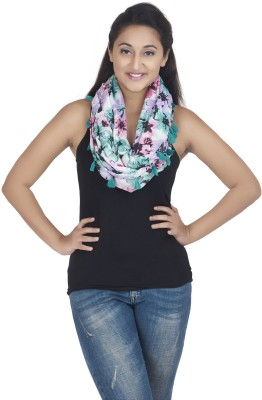 Get Wrapped Printed Viscose Women's Scarf