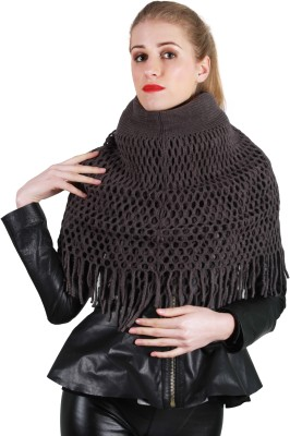 SXY! Solid Knitted Women's Scarf