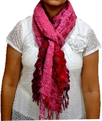 Portia Self Design Lycra Women's Scarf