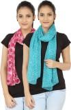 Divas Choice Printed Polyester Women's S...