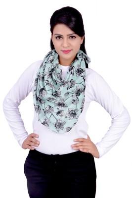 Sunsilk Enterprises Floral Print Cotton Women's Scarf