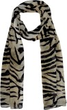 Hi Look Animal Print Poly Chiffon Women'...