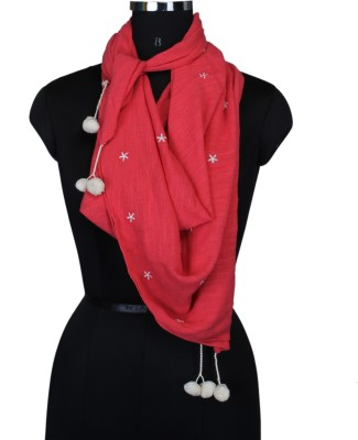 Frore Solid Cotton Women's Scarf