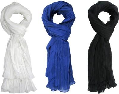 Sunsilk Enterprises Solid Cotton Women's Stole