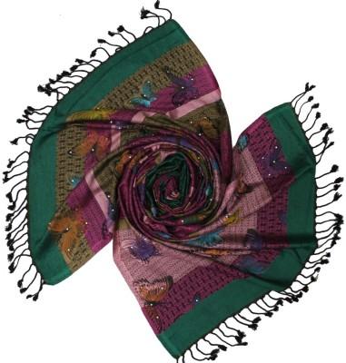 Shawls of India Embellished Viscose Women's Stole