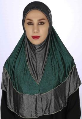 Islamic Attire Solid Platinum Women's Scarf