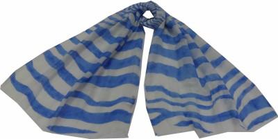 Polipilla Striped Viscose Linen Women's Scarf