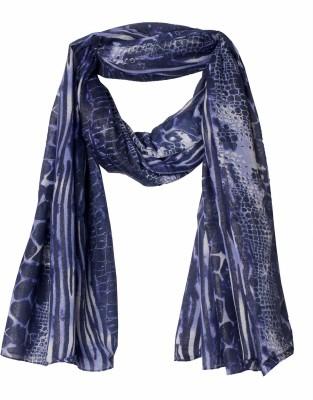True Fashion Printed Polyester Women's Scarf