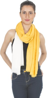Scarves & Glitters Solid Rayon Women's Scarf