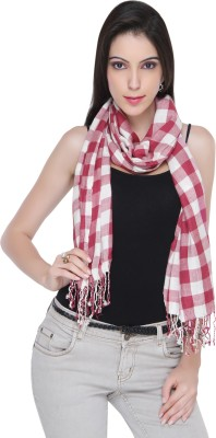 Bedazzle Checkered Cotton Women's Scarf