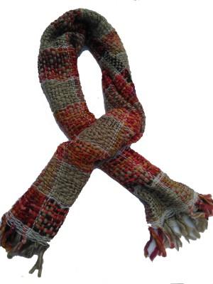 Lotusa Solid Woollen Women's Scarf