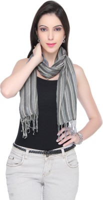 Bedazzle Striped Cotton Women's Scarf
