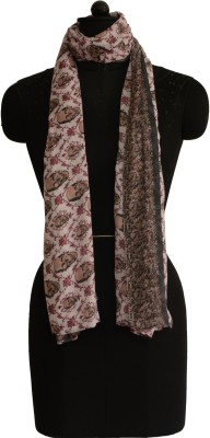 Jupi Self Design Polyester Women's Stole
