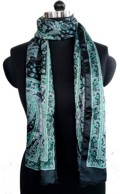 Sisel Printed Poly Satin Women's Stole