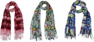 Trendz Home Furnishing Printed Cotton Women's Stole