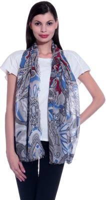 illuminati lifestyle Floral Print Cotton Women's Scarf