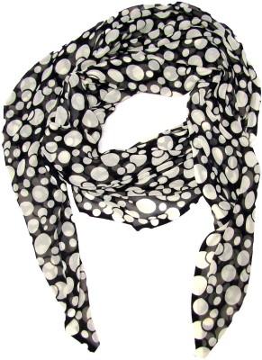 Srinika Designs Polka Print Cotton Women's Scarf