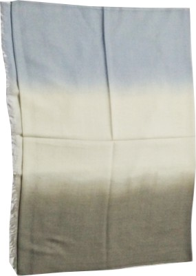 House of Zii Solid, Woven Wool Women's Stole