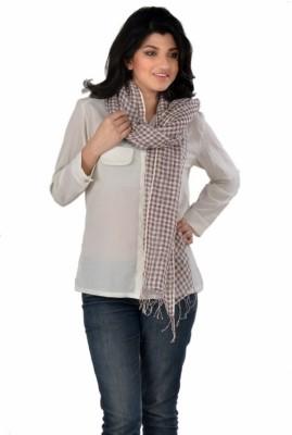 LIYANA Checkered Linen Women,s
