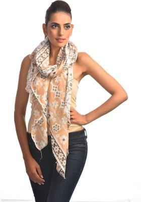DC Concepts Floral Print Cotton Women's Scarf