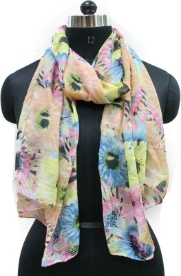 Get Wrapped Printed Polyester Women's Stole