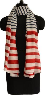 Jupi Striped Polyester Women's Stole