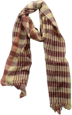 Dushaalaa Checkered Coton Womens Scarf