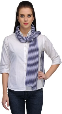Kiosha Striped Poly Cotton Women's Stole
