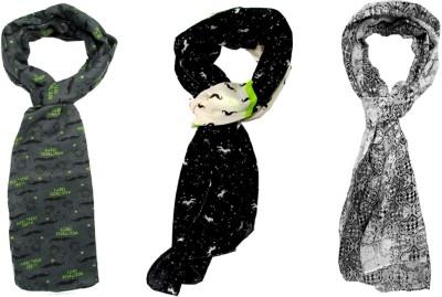 Sunsilk Enterprises Printed Cotton Women's Stole