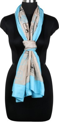 IR Acc Embroidered Silk Women's Scarf