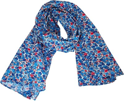 Aummade Floral Print, Printed Cotton Girl's Scarf