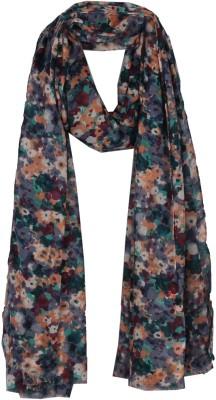 True Fashion Floral Print Polyester Women,s