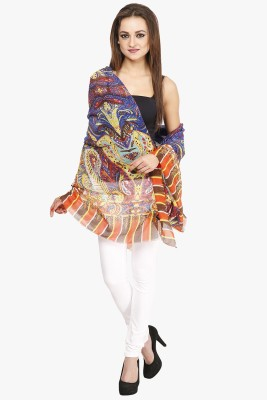 Citypret Printed Polyester Women,s, Girl's Stole