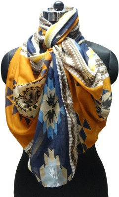 Otua Embroidered Polyester Women's Scarf