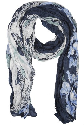 Holidae Floral Print viscos Women's Scarf