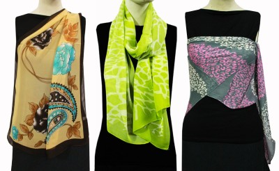 China Self Design Polyester Women,s Scarf