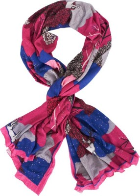 Textures Fashion Printed Soft Viscose Jersey Girls Scarf