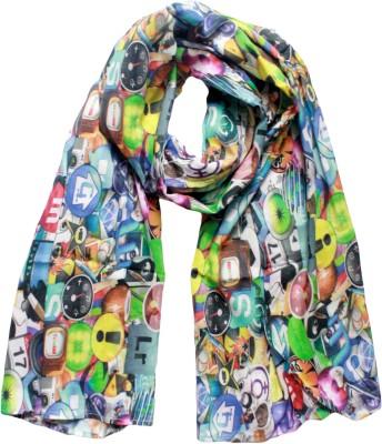 MAGA Self Design Cotton Silk Women's Stole
