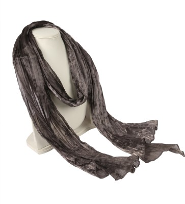 Alpha Lady Solid Silk Brocade Women's Scarf