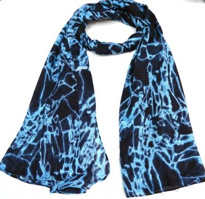 Vplondon Geometric Print Polyester Women's Scarf