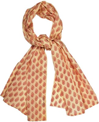 Hepburnette Printed Cotton Girl,s, Women's Scarf