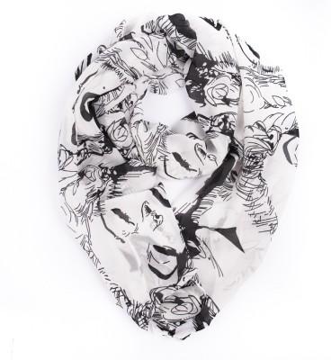 Niche Self Design Georgette Women's Scarf