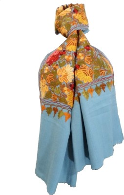Gift Piper Embroidered Wool Women's Stole