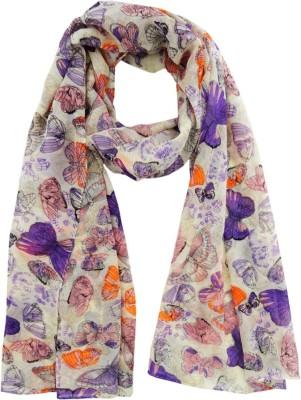 Hi Look Printed Polyester Women's Scarf