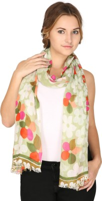 Anekaant Floral Print Viscose Womens Stole