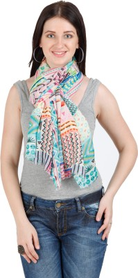 Shyam & Co. Of North Pvt. Ltd. Graphic Print 100% Modal Women's Scarf
