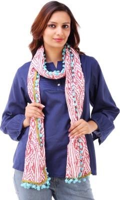 Akshat International Printed Cotton Women's Scarf